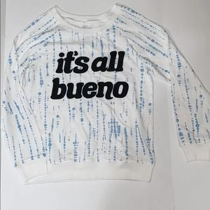 Its all bueno long sleeve shirt size large
